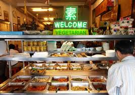 Chinese vegetarian restaurant