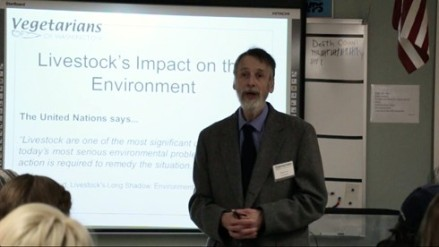 Stewart gives Enviro class in Vancouver