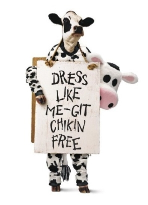 Chick-fil-A Cow Appreciation Day