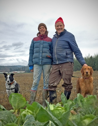 full circle - winter at the farm