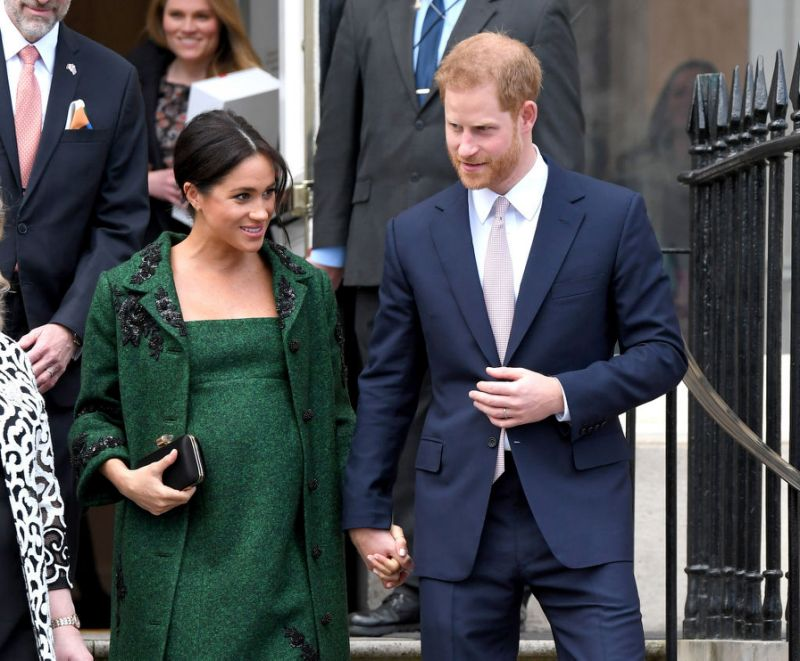 Meghan pregnant with Harry