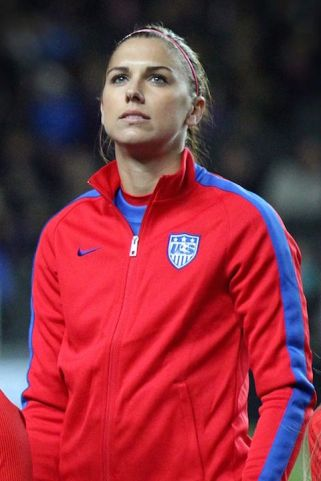 Alex Morgan soccer star